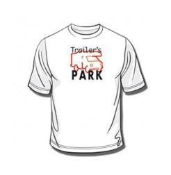 Tee-Shirt Trailer's Park Blanc XXL
