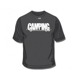 Tee-Shirt Camping Noir XL