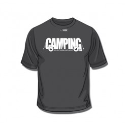 Tee-Shirt Camping Noir XXL