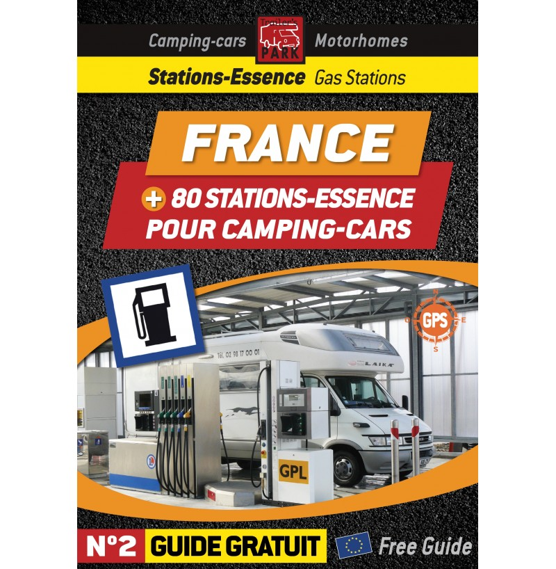 guide num rique des stations essences en france pour camping cars num ro 2 boutique camping. Black Bedroom Furniture Sets. Home Design Ideas