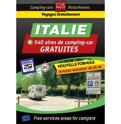 Guide NUMÉRIQUE ITALIE des Aires de Camping-car GRATUITES