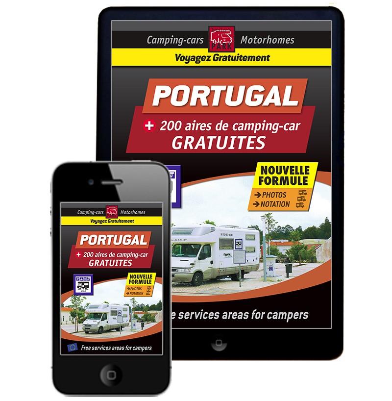 Guide NUMÉRIQUE PORTUGAL des Aires de Camping-car GRATUITES