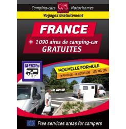 Guide NUMÉRIQUE FRANCE des Aires de Camping-car GRATUITES
