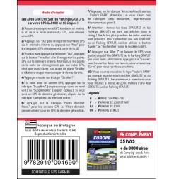 GPS GARMIN - SD Card AUTRICHE des Aires et Parkings GRATUITS