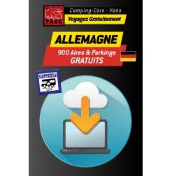 GPS GARMIN - Téléchargement ALLEMAGNE - 900 Aires et Parkings GRATUITS