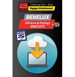 GPS GARMIN - Téléchargement BENELUX - 340 Aires et Parkings GRATUITS