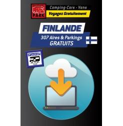 GPS GARMIN - Téléchargement FINLANDE - 307 Aires et Parkings GRATUITS