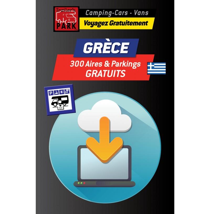 GPS GARMIN - Téléchargement GRÈCE - 300 Aires et Parkings GRATUITS