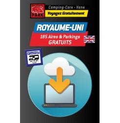 NOUVEAUTÉ ! GPS GARMIN - Téléchargement ROYAUME-UNI - 185 Aires et Parkings GRATUITS