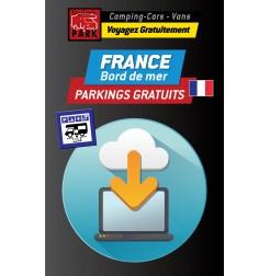 GPS GARMIN - Téléchargement FRANCE Bord de Mer - 400 Parkings GRATUITS