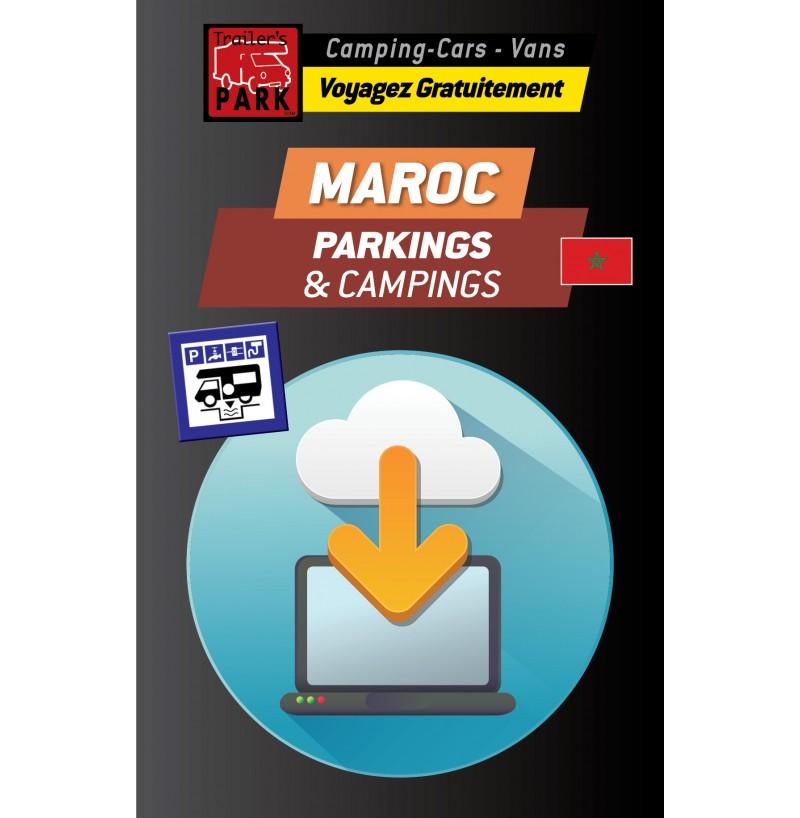 NOUVEAUTÉ ! GPS GARMIN - Téléchargement MAROC des Parkings et Campings