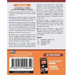 NOUVEAUTÉ ! GPS GARMIN - SD Card MAROC des Parkings et Campings