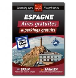 Guide ESPAGNE des Aires et Parkings Gratuits
