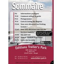 Guide ESPAGNE des Aires et Parkings Gratuits - Sommaire