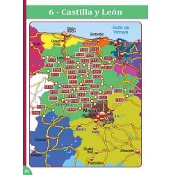 Guide ESPAGNE des Aires et Parkings Gratuits - Carte d'une région