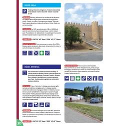 Guide ESPAGNE des Aires et Parkings Gratuits - Exemple de fiches