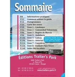 Guide ESPAGNE Bord de Mer - Sommaire
