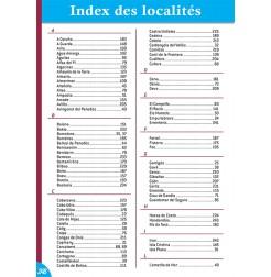 Guide ESPAGNE Bord de Mer - Index des localités