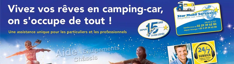 STAR MOBIL SERVICES : Une assistance adaptée aux besoins des camping-caristes !